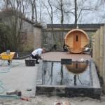 Werk Loosdrecht - Vijverrand aanleggen